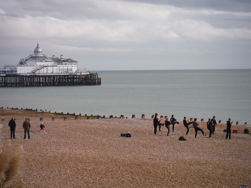 Eastbourne Pier and a morning work-out