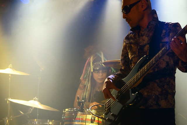 Coal Tar Moon live at Outbreak, Tokyo, 14 Oct 2015. 277