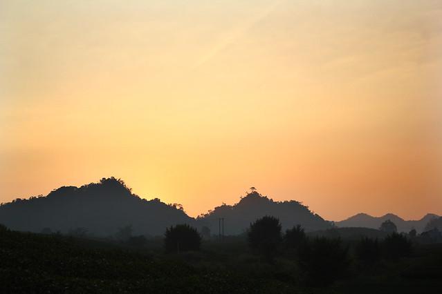 Sunset - Moc Chau