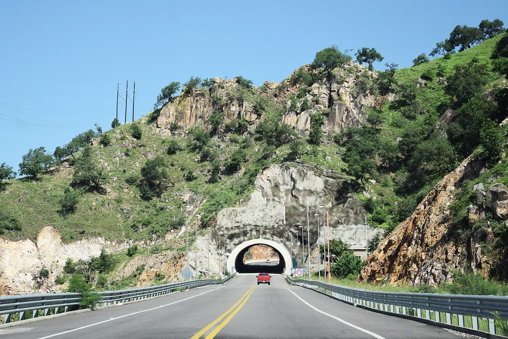 Mazatlan - Durango highway.