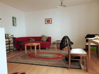 Renovierter Wohnbereich