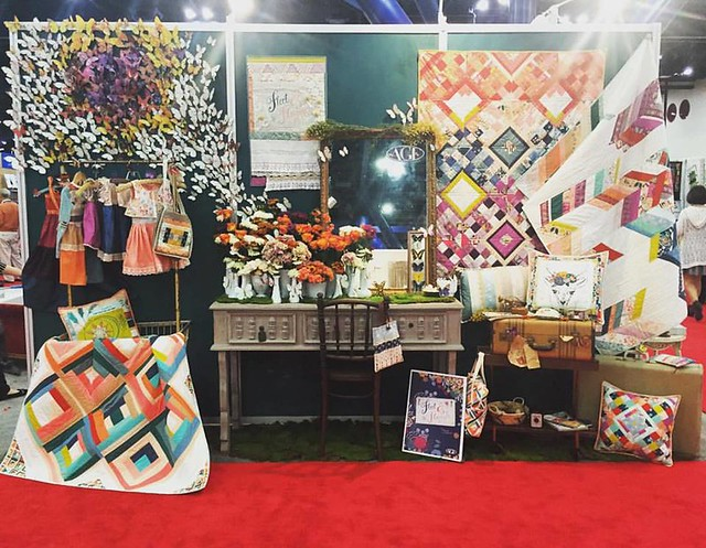 My Quilt Market Booth