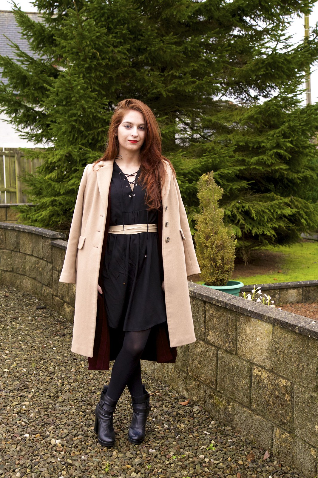 smockdress-, georgeatasda, ankleboots,