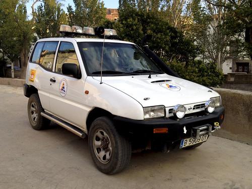 Protección Civil Herrera De Los Navarros. Nissan Terrano