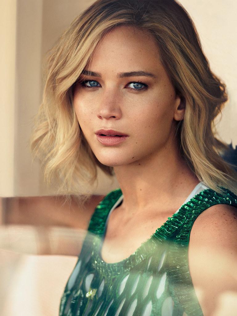 Дженнифер Лоуренс — Фотосессия для «Vogue» 2015 – 6