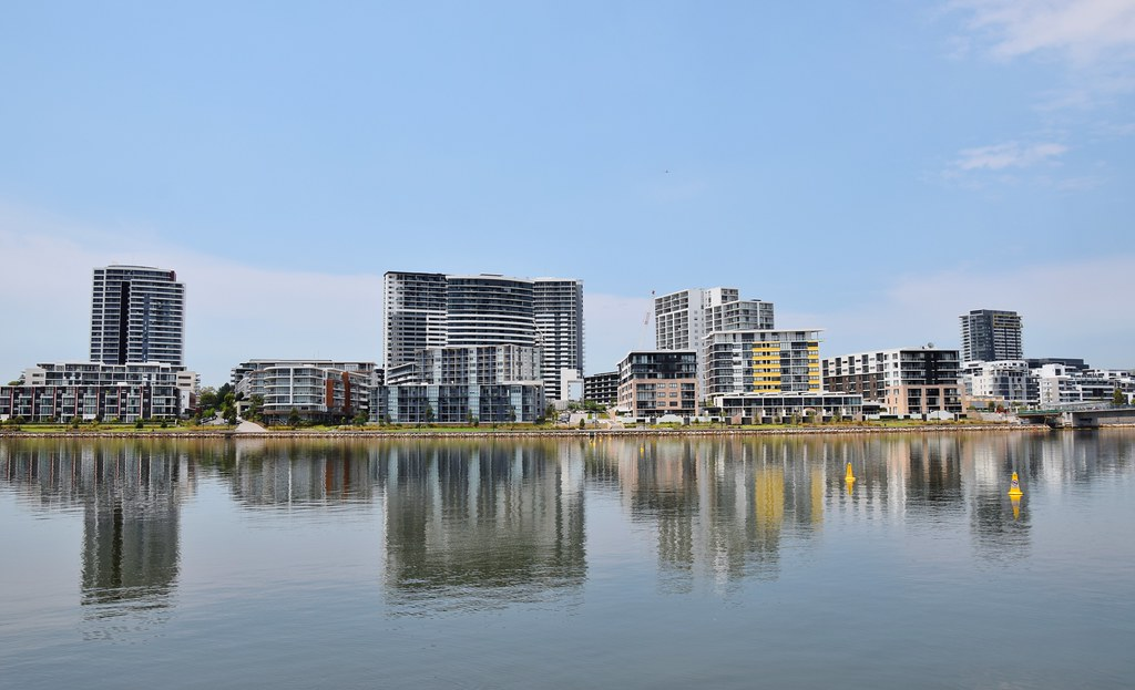 Homebush Bay Or The Flats