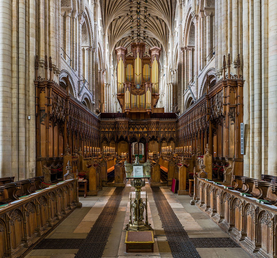 Norwich Cathedral - The choir. Credit: David Iliff