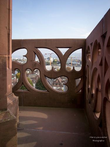 Blick vom Basler Münster