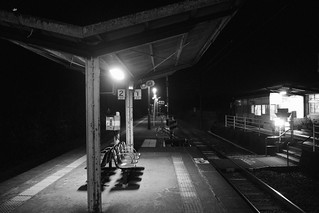 Oga Station, Oita pref. on OCT 26, 2015 (2)