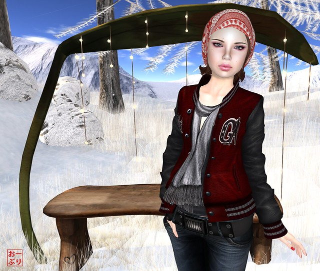 PXL Mia Winter Gacha Skin