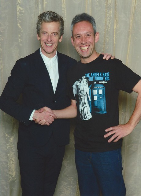 Hatching a deal with Malcolm Tucker... or maybe it's the 12th Doctor Who