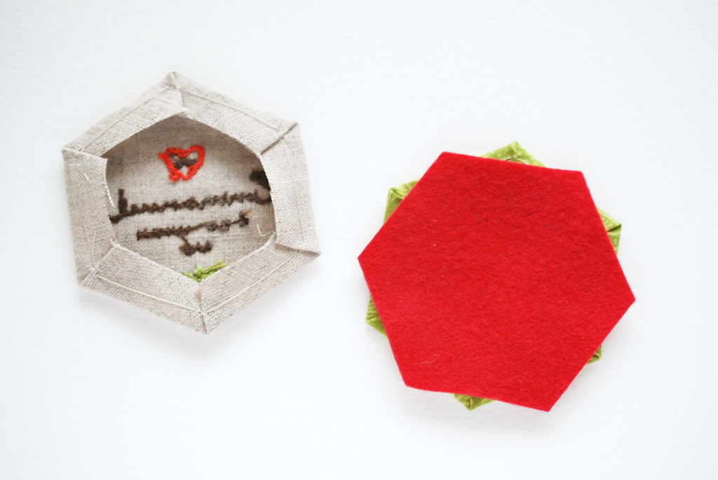 Double Hexagon Ornament