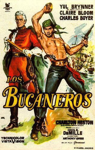 The Buccaneer - 1958 - Poster 3