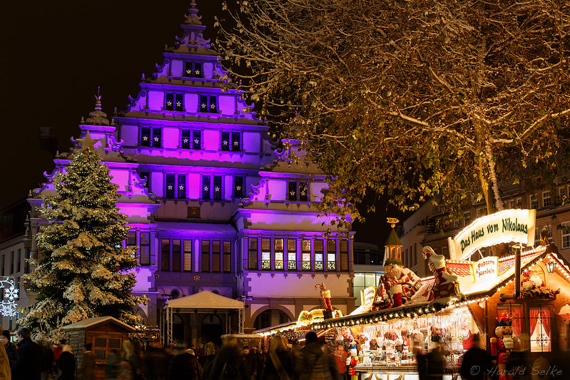 Christmas market in Paderborn, Germany. Credit Harald Selke