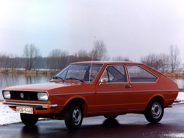 Трехдверный Volkswagen Passat (кузов B1). 1973 – 1977 годы