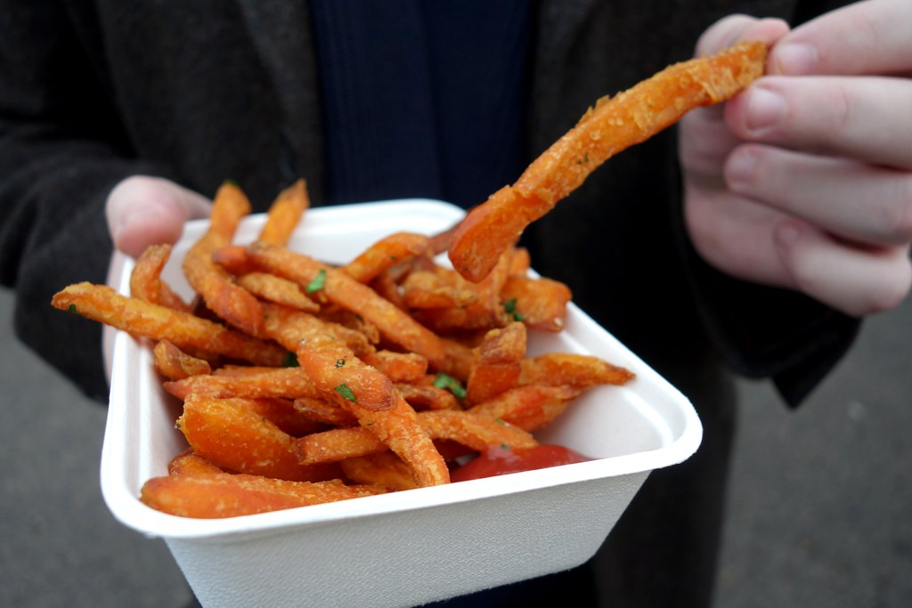The British Street Food Festival 2015: The Cheeky Italian Sweet Potato Fries