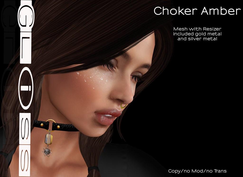 Gliss – Choker Amber