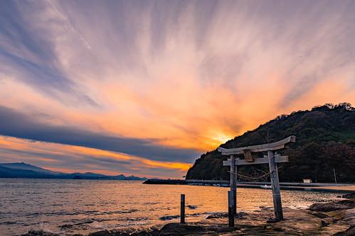imabari ehime shikoku japan misaki shrine sunset sea setonaikai setouchi nikon d7200 sigma 1770mm 1770 landscape