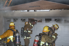 LAFD Quickly Handles Garage Fire