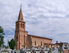 Magnanac 31340.L'Église Saint-Pierre.