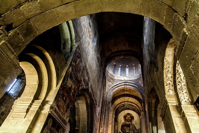 In Svetitskhoveli Cathedral