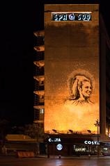 Late Lebanese Singer Sabah Memorial HArma Street, Beirut