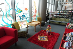 Kids area - New Brighton Library