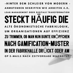 Ökonomistische Fabriklogik hinter modernen Begriffen http://www.netzpiloten.de/wie-technokratische-metaphern-das-denken-vernebeln/