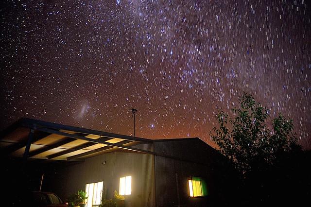 Starry night - Lake Cargelligo, NSW, Australia