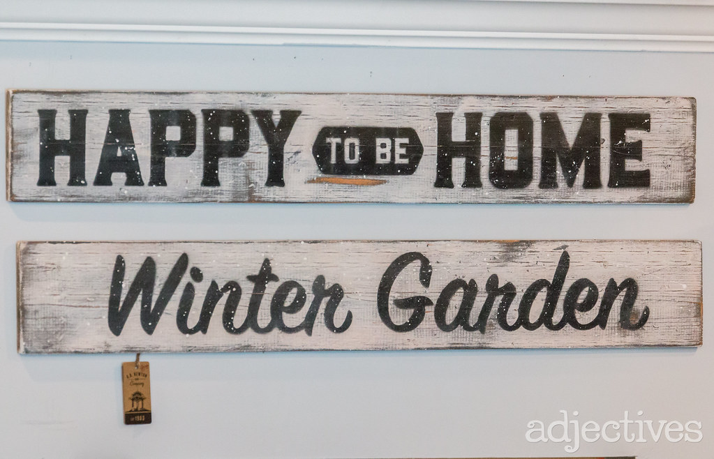 Adjectives Featured Finds in Winter Garden by A.B.Newton & Company