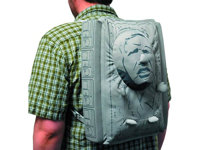 Comic Images 星際大戰系列【碳化韓索羅。造型背包】不要擔心,我會救你出去的!!