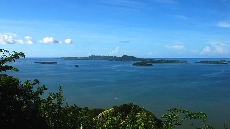 View from Shrine of Our Lady of the Most Holy Rosary, Caramoan