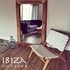 robuuste spiegel en ushuaia vintage lounge stoel