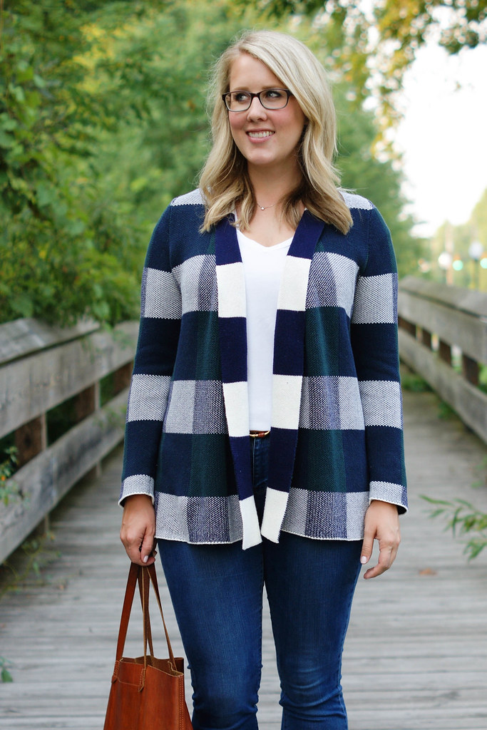 Simply Snuggly Cardigan in Forest