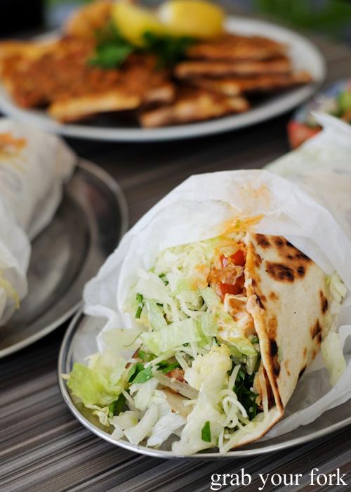 Chicken kebab from New Star Kebabs, Auburn