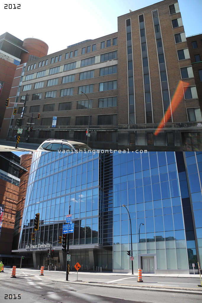 Before / After : Deloitte Tower 1