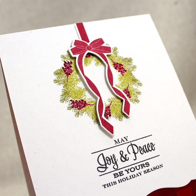 Joy & Peace Wreath Close Up