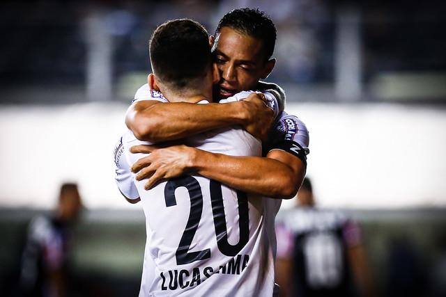 Lucas Lima e Ricardo Oliveira