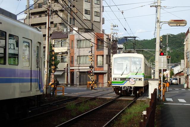 2015/09 叡山電車×城下町のダンデライオン ヘッドマーク車両 #16