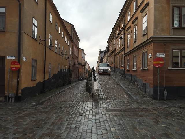 Stockholm: Subtracted street