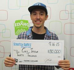 Colt Taylor - $30,000 Corndog Cashword