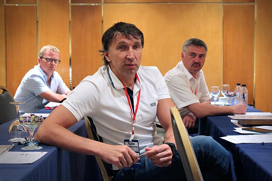 На круглом столе Вадим Федоров, Трейд-Пресс