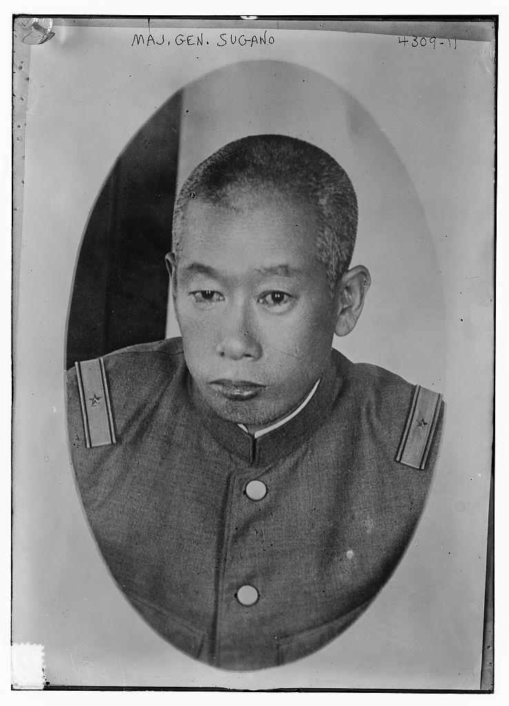 Maj. Gen. Sugano (LOC)