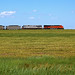 Southbound Train in Southwest South Dakota! by Victor Hamberlin
