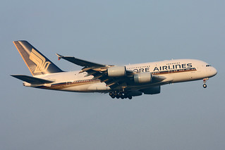 Singapore Airlines Airbus A380-841  9V-SKC