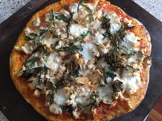 White Albacore Pizza