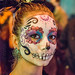 DSC02700 - Woman with Sugar Skull Makeup - Dia de los Muertos by loupiote (Old Skool) pro