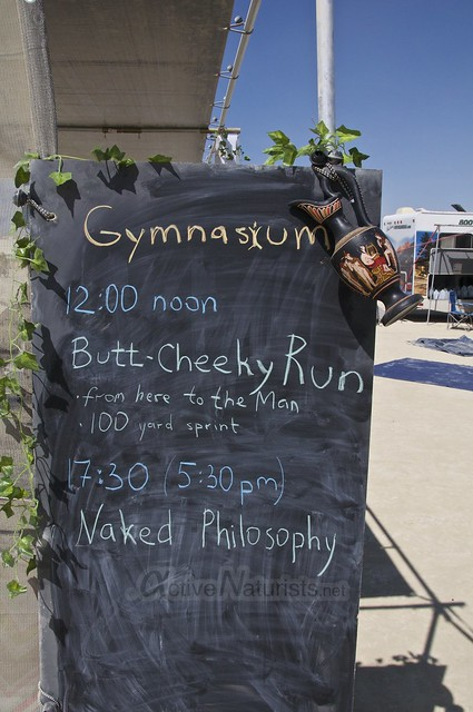 naturist gymnasium 0018 Burning Man 2015, Black Rock City, Nevada, USA