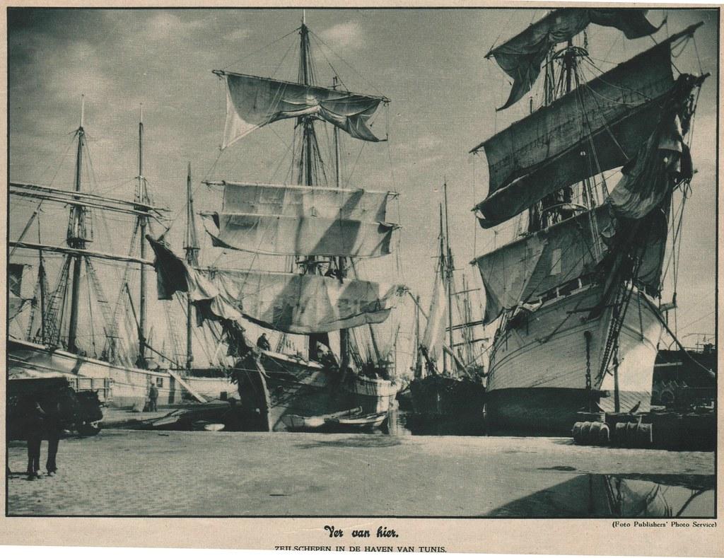 Panorama -Ons land 1932 Tunis Tallships
