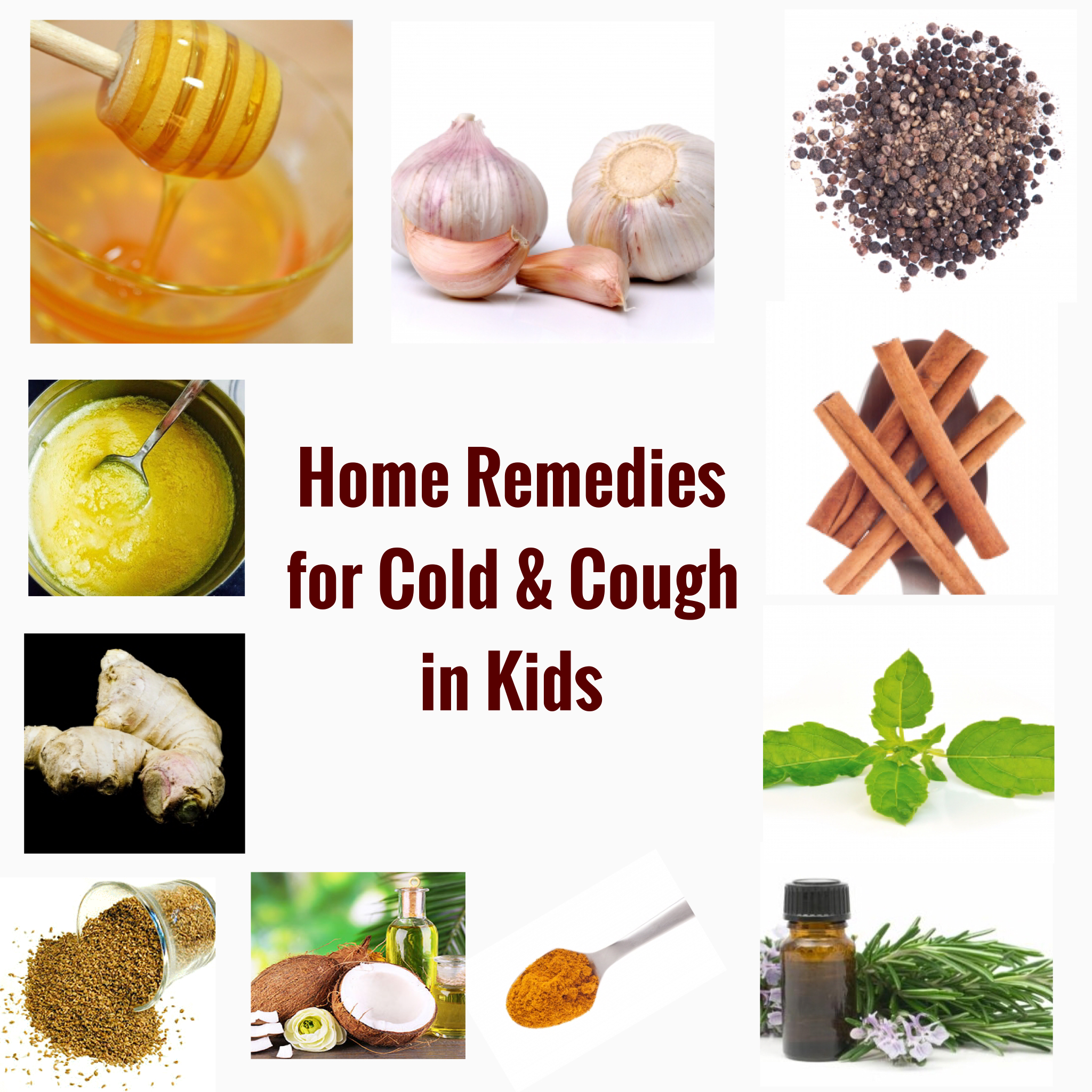 Home remedies for Cold & Cough in Kids